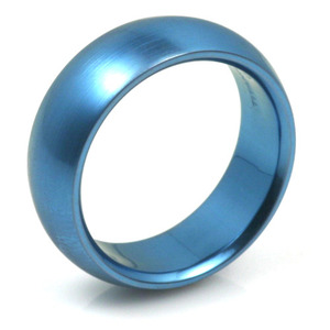 T-134 - TATIAS, Anodizing Colored Titanium Ring