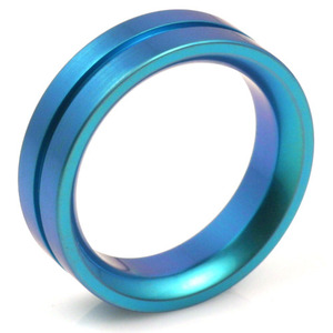 T-136 - TATIAS, Anodizing Colored Titanium Ring