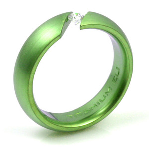 T-138 - TATIAS, Anodizing Colored Titanium Ring