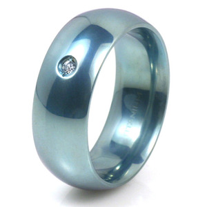 T-150 - TATIAS, Anodizing Colored Titanium Ring