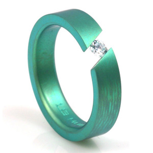 T-151 - TATIAS, Anodizing Colored Titanium Ring