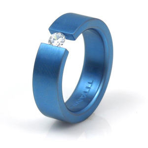 T-159 - TATIAS, Anodizing Colored Titanium Ring