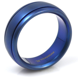 T-131 - TATIAS, Anodizing Colored Titanium Ring