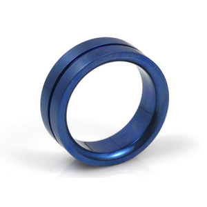 T-132 - TATIAS, Anodizing Colored Titanium Ring