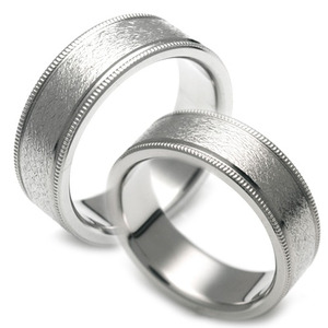 T-093 CO - TATIAS, Titanium Couple Ring