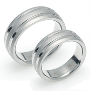 T-071 CO - TATIAS, Titanium Couple Ring