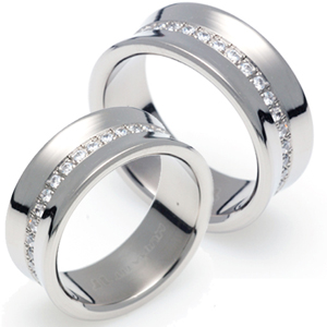 T-359 CO - TATIAS, Titanium Couple Ring