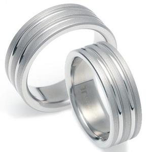 T-073 CO - TATIAS, Titanium Couple Ring