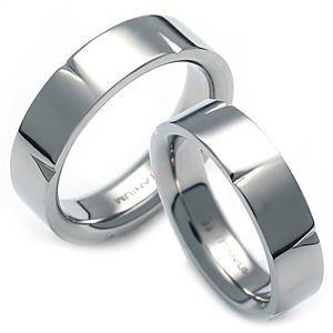 T-091 CO - TATIAS, Titanium Couple Ring