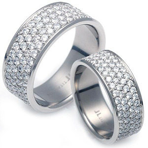 T-961 CO - TATIAS, Titanium Couple Ring