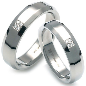 T-315 CO - TATIAS, Titanium Couple Ring