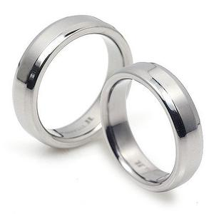 T-034-2 CO - TATIAS, Titanium Couple Ring