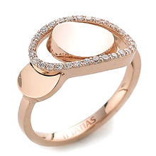 GR-017 - TATIAS, 14K & 18K Gold Ring