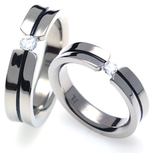 TQ-205 CO - TATIAS, Titanium Couple Ring