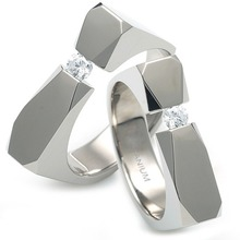 T-985 CO - TATIAS, Titanium Couple Ring